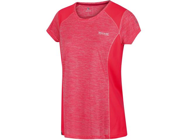 Regatta Breakbar V Camiseta Mujer, neon pink